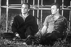 Stephen Dorff and Brad Renfro ponder the next whack attack in Deuces Wild.