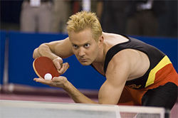 Thomas Lennon takes Ping-Pong jokes to a new level.