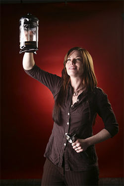 Novo Coffee co-manager Johanna Everts plans to jolt her competitors.