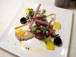 Barolo's insalata di barbabietole beats all other beet salads. More photos: Barolo Grill is flying high.