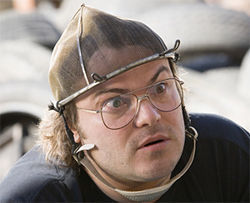 Jack Black remakes movies in Be Kind Rewind.