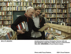 Christopher Plummer (left) and Ewan McGregor star in Beginners.