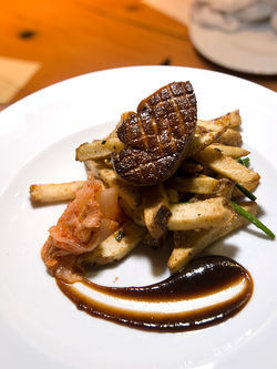 Fry me to the moon: Euclid Hall's duck foie gras poutine. See the full slideshow from Euclid Hall.