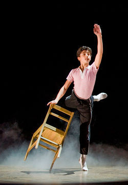 Giuseppe Bausilio in Billy Elliot the Musical.
