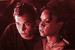 Ethan Embry and Lizette Carrion in Fox's Freaky Links: At least the network had the good sense to ax the show before it spread like a virus.