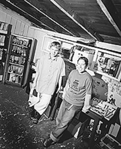 Ex libris: Jamez Terry and Kelly Costello of the Denver  Zine Library.
