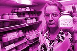 Best of the breast: Laraine Lockhart Borman runs the Mother's Milk Bank in Denver.