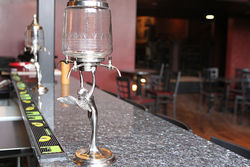 The absinthe will soon start flowing at Absinthe House.