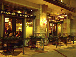 Brasserie Ten Ten is popular -- but not with French purists.