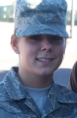 Brittney Brashers and Robert Walters met in the Air Force and had a tumultuous relationship.