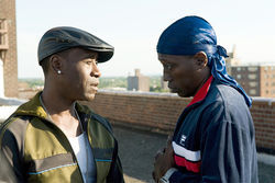 Denver boy Don Cheadle (left) and Wesley Snipes star in Brooklyn's Finest.