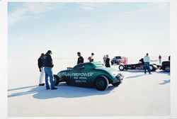 &quot;No. 4 &#039;Bonneville&#039; series,&quot; Gary Huibregtse, color photograph.