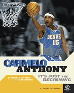Carmelo Anthony talks of life in his new biography.