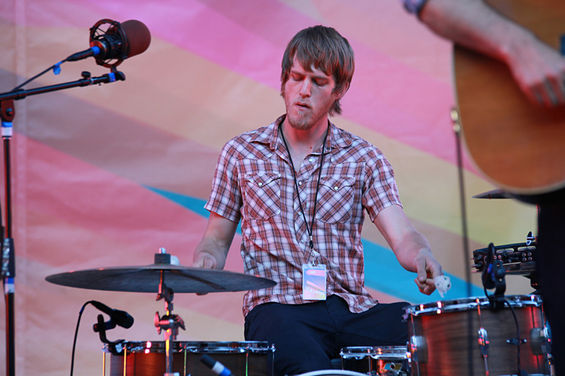 Drummer Carl Sorensen has played in 65 Denver bands in the past five years