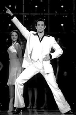 Ryan Ashley as Tony in Saturday Night Fever.