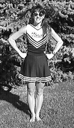Cheerleader Kendra, as played by Cassandra.