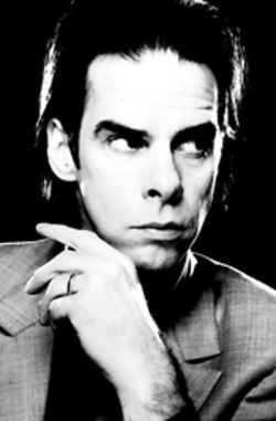 Coming out of the dark: Nick Cave.