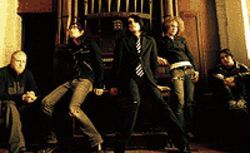 Better living through chemistry: Bob Bryar (from left),  Mikey Way, Gerard Way, Ray Toro and Frank Iero   are My Chemical Romance.