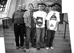 Culture club: Nick Morales (from left), Raymond  Foxworth, Daniel Bonsell, David Mason, Angelo  Vialpando, Daniel Salcido and Ben Jordan.