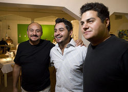 Andres Yañez and his sons Eder Yañez-Mota and Hanzel Yañez-Mota (left to right) brought the taste of Puebla to Denver at Chili Verde. See more photos here.