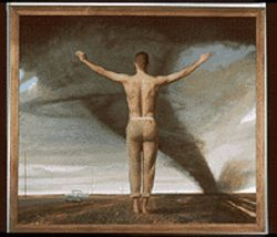 &quot;The Parabolist,&quot; by Bo Bartlett, oil on linen.