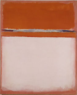 """Number 18,"" by Mark Rothko, oil on canvas."