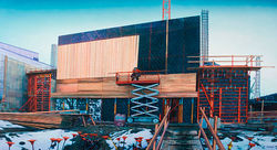 &quot;Still Under Construction,&quot; by Rick Dula, acrylic on panel.
