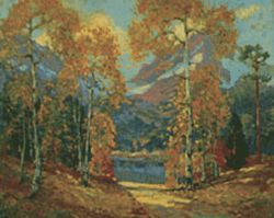 &quot;Up Red Canon, Rabbit Ear Range,&quot; by Frank Vavra, 
