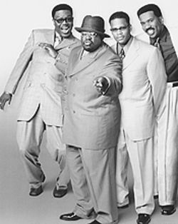 Pryor engagement (from left): Bernie Mac, Cedric the Entertainer, D.L. Hughley and Steve Harvey are The Original Kings of Comedy.