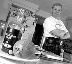Feeling his oats: John Shields has become Colorado's premier haggis maker.