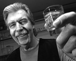 "Everybody must get stoned: Terry Burr raises a glass  to Scotch ""On the Rocks."""