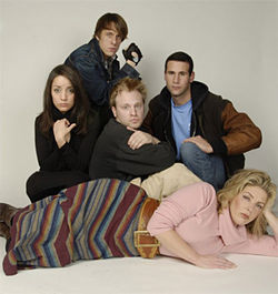 The cast of Josh Hartwell&#039;s Contrived Ending.