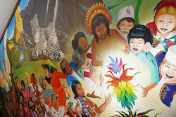 Leo Tanguma&amp;rsquo;s DIA murals have stoked conspiracy theories.