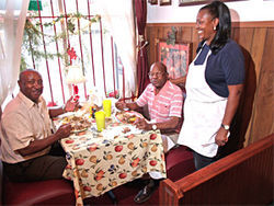 Priscilla Smith relied on old family recipes to open Cora Faye's Cafe.