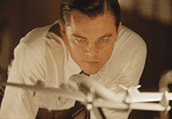 Fly me to the moon: Leonardo DiCaprio has visions in  The Aviator.
