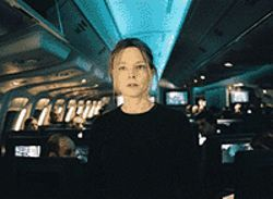 Hey, kid: Jodie Foster looks for a missing tot in 