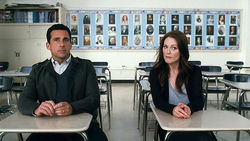 Steve Carrell and Julianne Moore are in Crazy, Stupid, Love.
