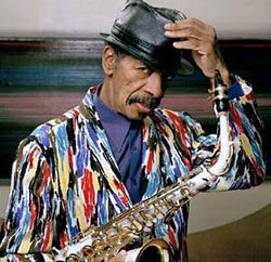 Ornette Coleman, world-class fashionista.
