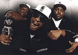 Crunk and disorderly: Lil Bo (from left), Lil Jon and Big  Sam are Lil Jon & the East Side Boyz.