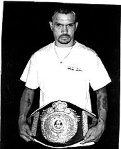 Eyes on the prize: In February 2000, Arturo Jr. won the Colorado State Championship lightweight belt.