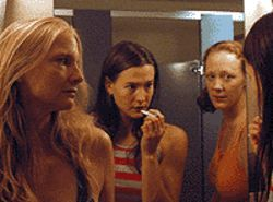 Christa Ray (from left), Bethany Urban and Liz 