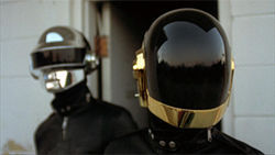 Cylon Raiders or Daft Punk? Only their hairdresser knows.