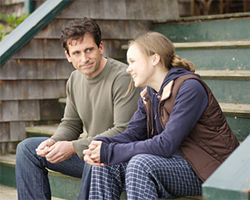Steve Carell and Alison Pill play family in Dan in Real Life.