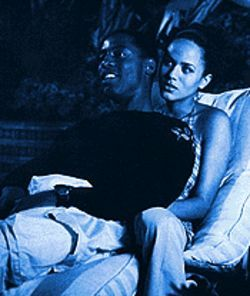 Don't dream  --  just do it: Isaiah Washington and Nicole Ari Parker in Dancing in September.