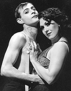 Brian Mallgrave and Alicia Dunfee in Cabaret.