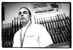 Dave Anver circa 2001, in the days of Dave's Guns.