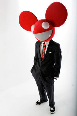Deadmau5 must be a misnomer. From the looks of it, this rodent is definitely alive.