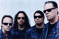 Hey, Metallica, that's some kind of comeback.