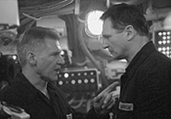 Cruise control: Harrison Ford and Liam Neeson go Soviet in K-19: The Widowmaker.