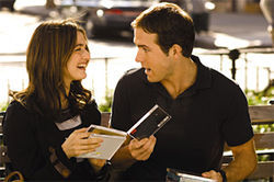 Rachel Weisz and Ryan Reynolds flirt in Definitely, Maybe.